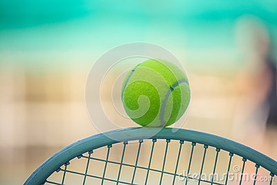 stock image of tennis sport