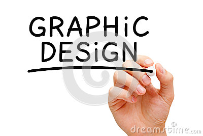 stock image of graphic design