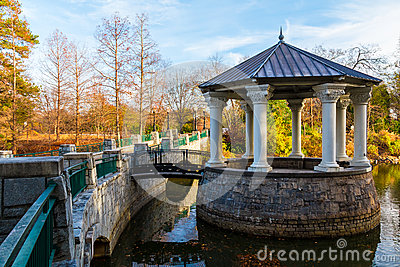 Clara Meer Gazebo in Piedmont Park, Atlanta, USA
