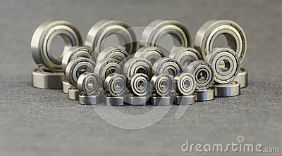 Metal bearing. Spare parts for machinery.