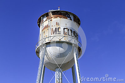 McClure Water Tower