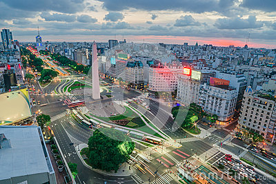 The Capital City of Buenos Aires in Argentina
