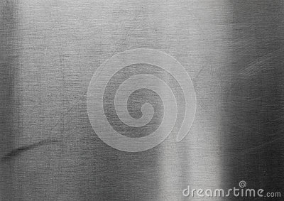 Silver stainless steel sheet texture background