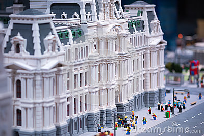 PLYMOUTH MEETING, PA - APRIL 6: Grand Opening of Legoland Discovery center Philadelphia, PA on April 6, 2017