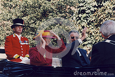 H.M.THE QUEEN MARGRETHE AND PRINCE HENRIK VISISTS