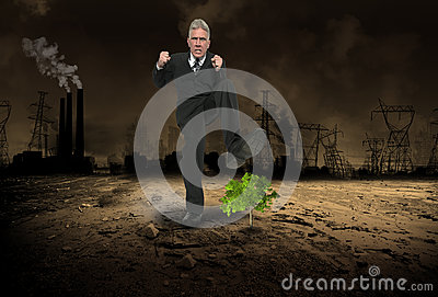 Business Greed, Profit, Global Warming, Pollution