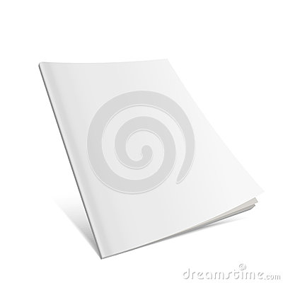 Blank Flying Cover Of Magazine, Book, Booklet, Brochure.