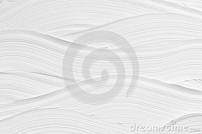 White wave plaster texture. Light modern abstract background.