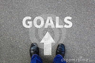 Goal goals setting success new aspirations strategy future busin