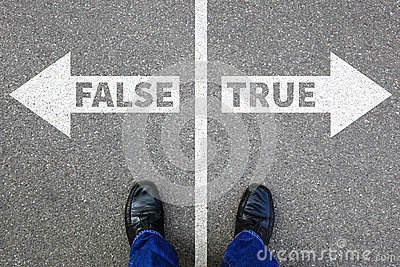 False true truth fake news lie lying facts decision decide