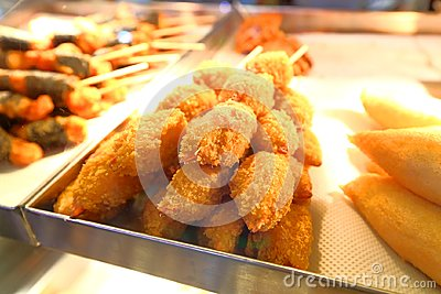 stock image of fried food