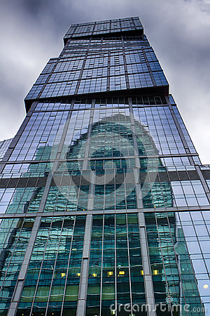 Moscow-City. Tower Capital City. The center of business in Russia. Conducting financial transactions. Moscow Russia.