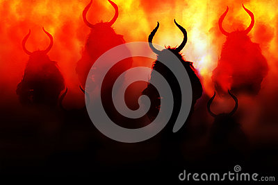 Demon in hell