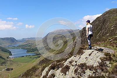 Haystacks to Buttermere and Crummock Water Cumbria