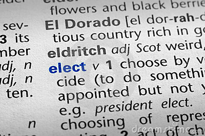Definition of Elect