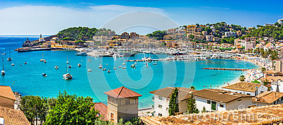 Mediterranean Sea Spain Majorca Port de Soller