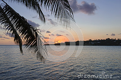 Sunset - Port Vila