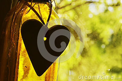 Abstract concept background inspirational quotes life, love, heart