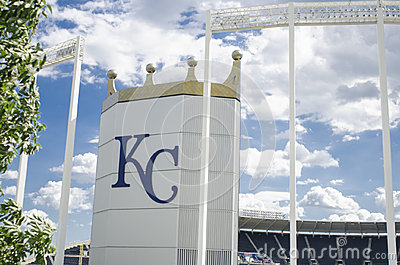 Kauffman Stadium AKA Kansas City Royals