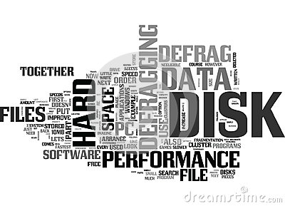 Why Do We Defrag The Hard Disk Word Cloud