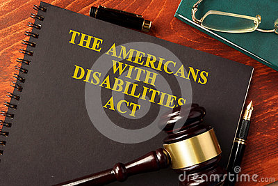 The Americans with Disabilities Act ADA.