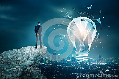 Innovation, technology and idea concept