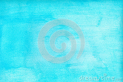 Marine or navy blue watercolor gradient fill background. Watercolour stains. Abstract painted template with paper texture