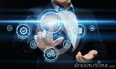API Application Programming Interface Software Web Development concept