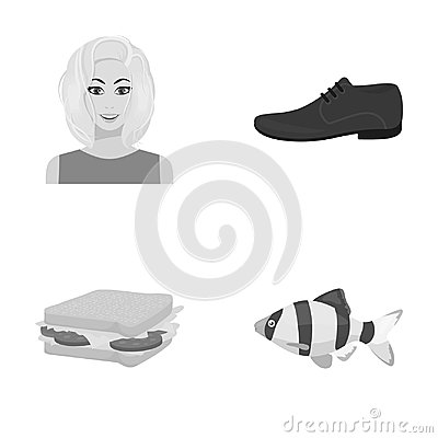 Leisure, business, industry and other web icon in monochrome style.fish, sea, aquarium icons in set collection.