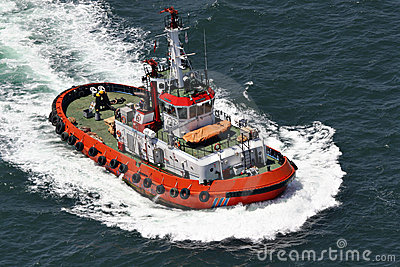 Coastal safety, salvage and rescue boat