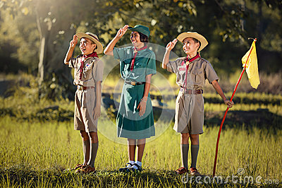 Scouts three ready