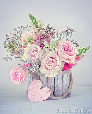Congratulation with a flowers