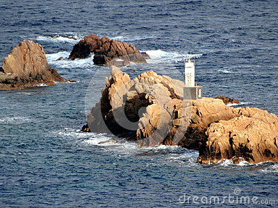 Lighthouse in Illes Formigues