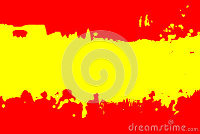 Color of Spanish flag.