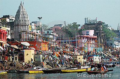 Holy City Benaras In India