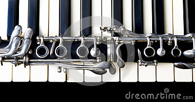 Clarinet and Keyboard.