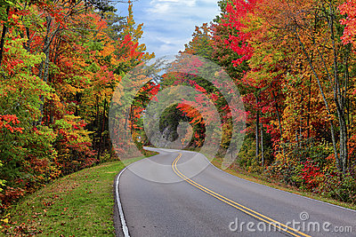 Foothills Parkway, Tennessee