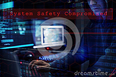 Hacker data system hacking safety Compromised