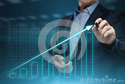 stock image of financial graph. stock market chart. forex investment business internet technology concept