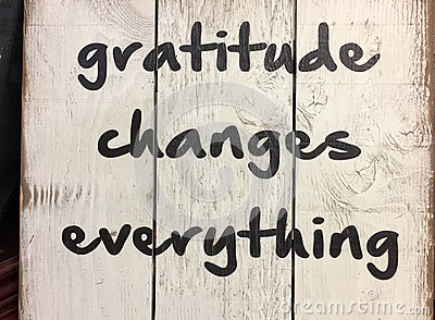 Tip about gratitude