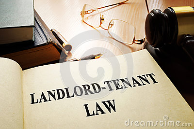 Landlord-tenant law.