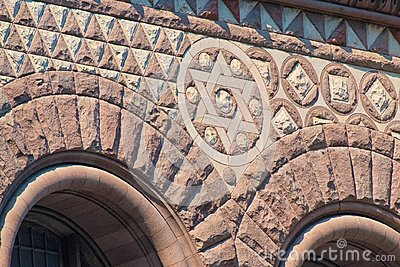 Toronto, Canada: Old City Hall Romanesque Revival architecture