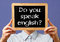 Do you speak English sign