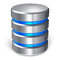 Hard disk and database icon