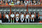 Players football team Shakhtar bored on the bench