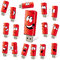 Red flash drives