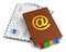 E-mail, mail and correspondence concept
