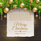 Christmas decoration and paper banner