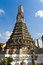 The Temple of Dawn Wat Arun and blue sky