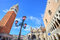 Campanile and Doge's Palace in Venice, Italy.